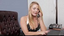 aurora snow and kaci starr pleasure each other in the office