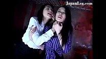 Rough Tatooed Bondage Lesbian Red Room thumbnail