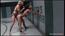 Ultimate Surrender Handgagged while Fucked