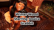 Jessica Grabbit gets fucked by big black dick ...