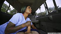 lexxi deep gets back into the business on the bang bus bb15795