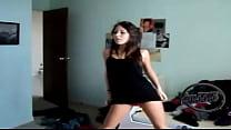 Chica bailando como una puta 3