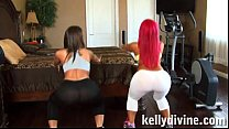 pinky and kelly divine threesome