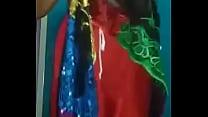 Desi Bhabhi In Traditional Sari Getting Naked   FreeHDx