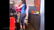 pants yoga in latina ass Big