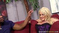 Cuckold slut Leya Falcon takes anal pounding thumbnail