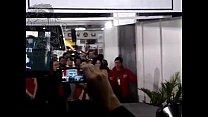 ecuador cemexpo en lenceria con modelos Desfile