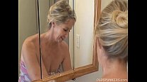 shower a has granny Gorgeous