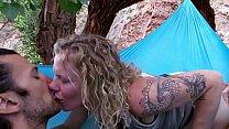 blond girl Hippie