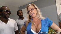 Amber Lynn Bach gets gangbanged and creampied b...