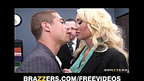 incredibly hot blonde summer brielle can t resist her co worker
