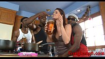 Hot babe Cici Rhodes anal fucked by huge black ...