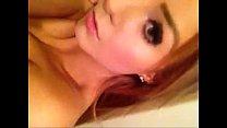 brunnete rubbing herself on webcam. - Snapchat ...