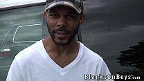 Jayden Jones Assrides A Big Black Cock