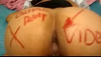 Esposa putinha pedindo rola no cu