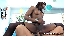assbanged gets couture chanel hottie tranny Black
