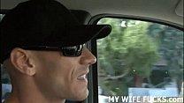Watch you wife get fucked by a big cocked pornstar porn videos
