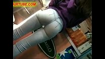 candid camera in public store films perfect fit ass in jeans 01