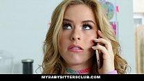 MyBabySittersClub - Adorable Babysitter Lily Ford Fucks Hot Boss porn videos