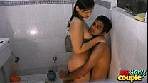 indian hot couple hardcore sex in shower at hotel   wowmoyback