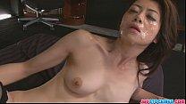Hot Japanese chick Hojo Maki manhandled