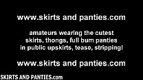 follow me out to the pasture and i will show you my panties