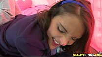 Erin is creampied in Young And Fun in Pure18