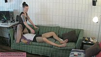 Katja's Ballbusting Therapy PART 3