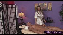 cock with plays lee devon milf Busty