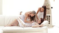 Nubile Films - Lesbian lust to the third degree
