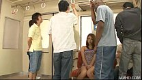 japanese sweetheart mizuki iori abused on the subway by thugs