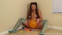 Madisin Lee in Party Balloons. MILF big ass whi...