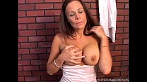 Super cute busty MILF imagines you are fucking ...