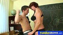 Hot czech cougar Helena student teacher harassm...