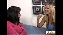 fuck lesbian hot a for teen a seduces blonde Experienced