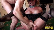 squirting while dominated sub British