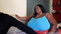 Sexy Ebony Busty Cotton Candi Swallows Jovan Jo...