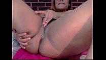 Huge Ass Latina Dildoing her asshole