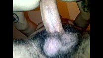 My bf Jorge Latino Mexican Uncut Fucks me at his mom's house Cums inside my ass