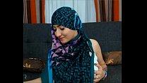 Maleena a muslim Hijabite shows off her Nice ti...