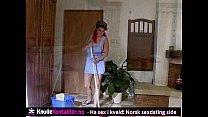 Частное видео мастурбации дома