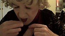 CUTE BLONDE GIRL DRINKS HOT PISS & CUM CHAPEL H...