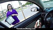 TeensLoveMoney - Fundraising Money For A Car Quickie! porn videos