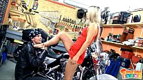facialized getting and biker lucky some fucking blond sabrina star Teen