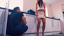 cock some get daughter step her helps mom - Brazzers