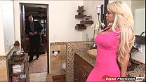 Bridgette B opens her pussy for a real estate a...