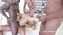 party gangbang interracial shine Lola