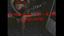 Detroit Rock City / KISS guitar cover lingerie ...
