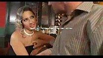Blonde In Bar Stocking Sex