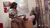 Русская беременная женщина на бак анализе видео